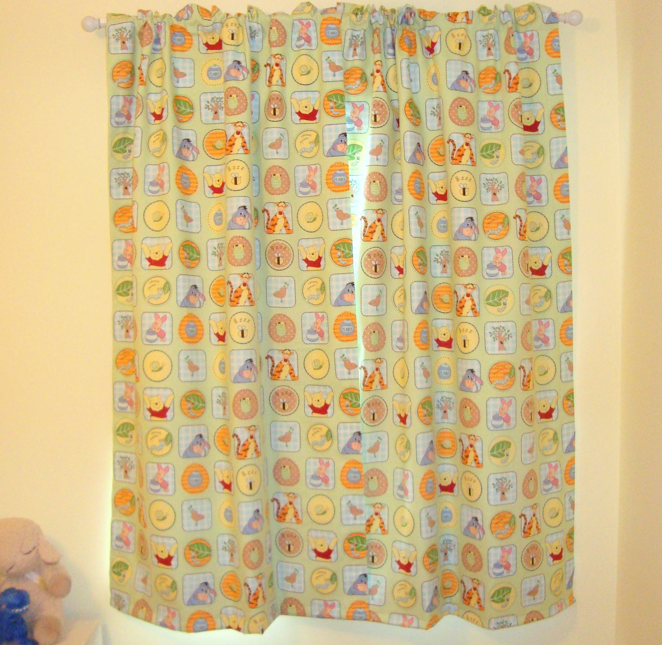 How to make rod pocket curtains - I
